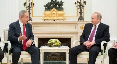 Netanyahu ke Moskow Bahas Iran dan Suriah Bersama Putin