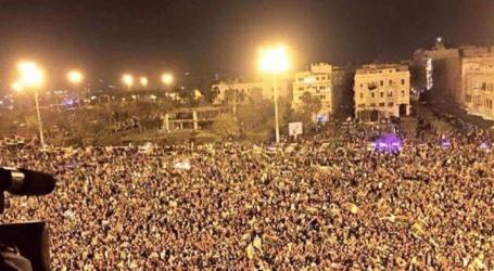 Ribuan Warga Libya Peringati Tujuh Tahun Penggulingan Gaddafi
