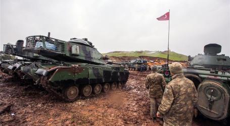 Operasi Militer Turki di Suriah Utara Dimulai