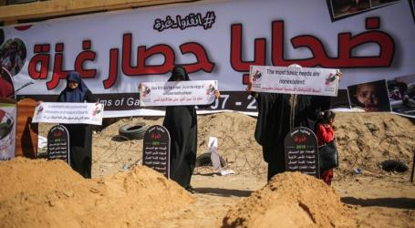 Lebih 1.000 Warga Palestina di Gaza Tewas Akibat Blokade Israel