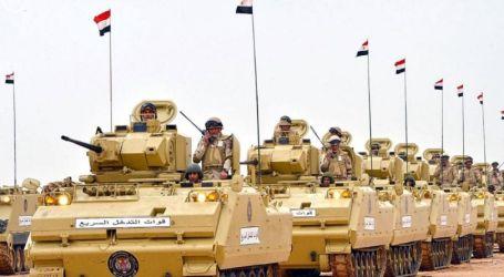 Militer Mesir Bunuh 53 Militan Bersenjata Selama Operasi Sinai
