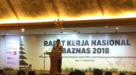 Menag Buka Raker BAZNAS 2018 di Bali