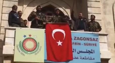 Pasukan Turki dan FSA Kuasai Pusat Kota Afrin