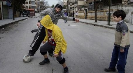 Roket Oposisi Suriah Kenai Klub Sepak Bola Anak-anak, Satu Tewas