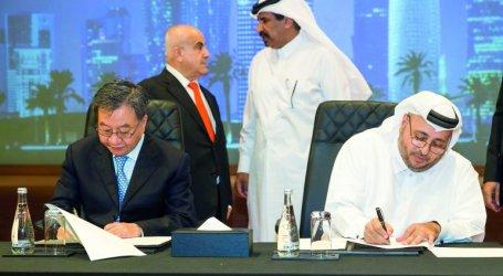 Qatar-Cina Tandatangani Promosi Perdagangan Internasional