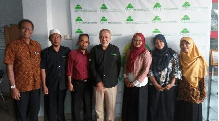 Jajaki Kerjasama Sosialisasi Halal, PKPH Unma Banten Kunjungi Kantor Berita MINA