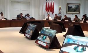 Jokowi: Sinergi Polri, TNI, dan BIN Mampu Tangkal Gangguan Keamanan Idul Fitri