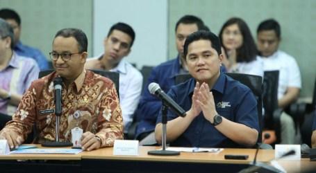 Wartawan dan Relawan Asian Games Gratis Naik Transjakarta