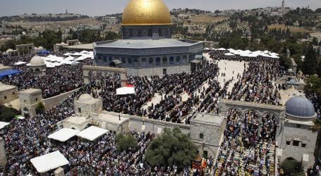 45 Ribu Jamaah Shalat Jumat di Al-Aqsa