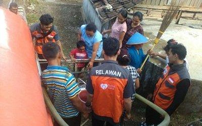 Rumah Zakat Bantu Air Bersih 56.000 Liter untuk Desa Kekeringan di Gunungkidul
