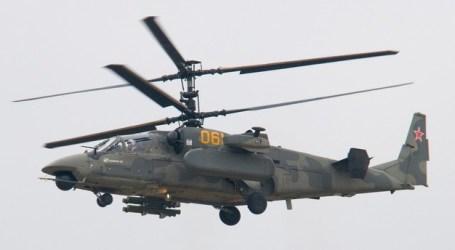 Helikopter Militer Rusia Jatuh, Dua Pilotnya Tewas