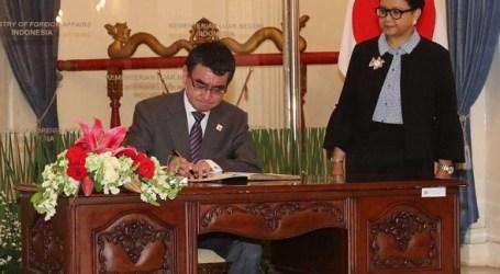 Indonesia-Jepang Sepakat Tingkatkan Bantuan ke Palestina