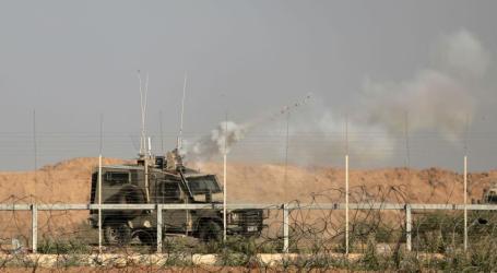 Pemrotes Lempar Granat Pada Tentara Israel Saat Demo di Perbatasan