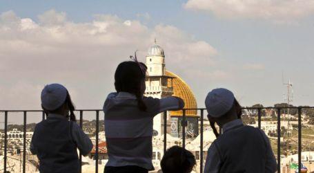 Populasi Yahudi di Yerusalem Timur Turun 10 Persen