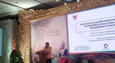 Bambang Brodjonegoro: Pengembangan Geopark Berikan Kontribusi Ekonomi Nyata