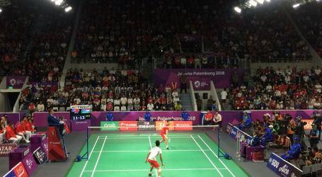 Jokowi Hadiri Final Tim Badminton Putra Indonesia