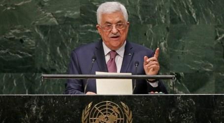 Mahmoud Abbas Tiba di New York untuk Pimpin G77