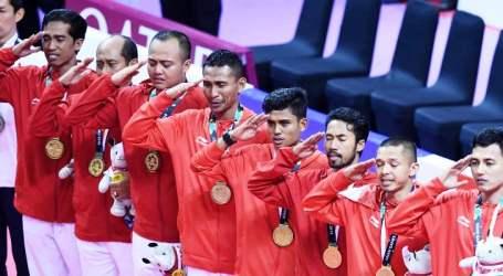 Indonesia Raih Medali Emas ke-31 Lewat Sepak Takraw
