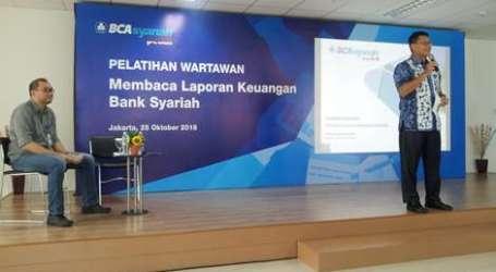 Bank BCA Syariah Selenggarakan Pelatihan Wartawan Baca Laporan Keuangan