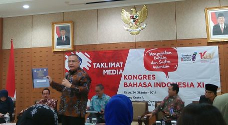 Sembilan Fokus Bahasan Kongres Bahasa Indonesia XI