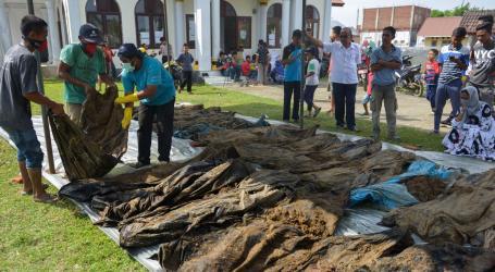 Korban Gempa dan Tsunami Aceh Sudah Dikebumikan Kembali, Empat Teridentifikasi