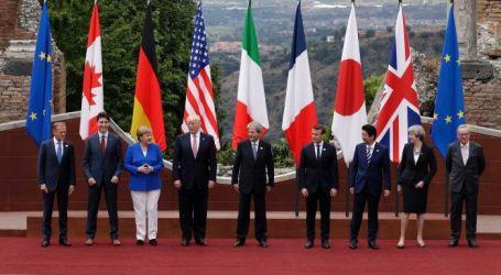 """G7 Nyatakan """"Dukungan Tak Tergoyahkan"""" untuk Ukraina"""