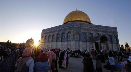 Israel Larang Seorang Muslimah PalestinaMasuk Al-Aqsa 15 Hari