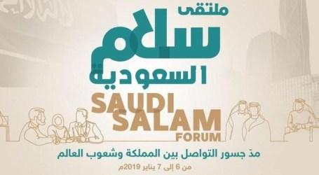 Saudi Selenggarakam Forum Perdamaian