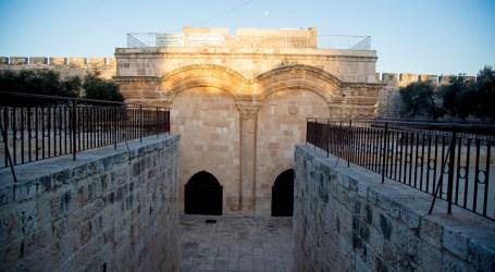 Pegawai Masjid Al-Aqsa Ditahan Karena Buka Pintu Bab Al-Rahma