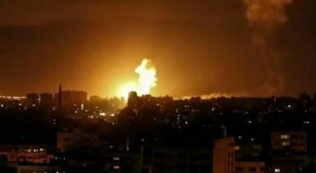 Pesawat Israel Bombardir Wilayah Perlawanan di Gaza