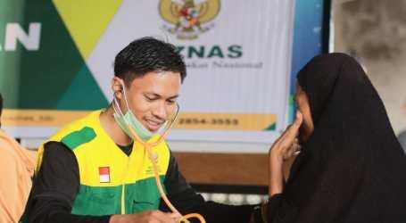 Baznas Beri Layanan Kesehatan Bagi Pengungsi di Sentani