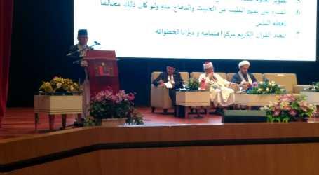 Imaam Yakhsyallah Sampaikan Peran Ulama di Konferensi Al-Aqsa di Malaysia