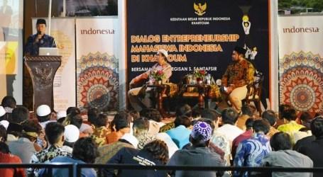 KBRI Khartoum Gelar Dialog Entrepreneurship dengan Mahasiswa Indonesia