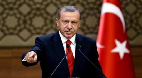 Erdogan Kecam Islam Dihubungkan dengan Terorisme