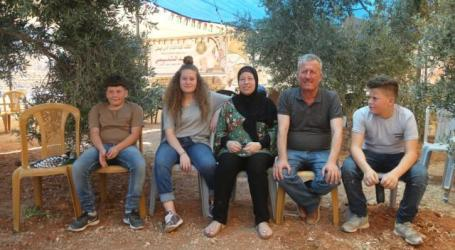 Israel Tahan Saudara Ahed Tamimi