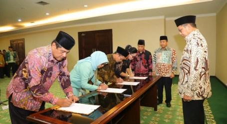 Tujuh Pimpinan Perguruan Tinggi Keagamaan Negeri Dilantik