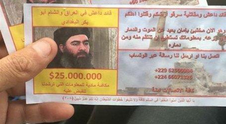 Laporan: Pemimpin ISIS Gagal Menyeberang dari Suriah ke Irak