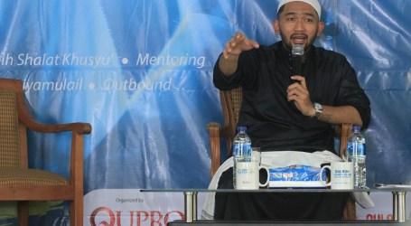 Sambut Ramadan, 'Uje' Berikan Nasihat untuk Para Mualaf