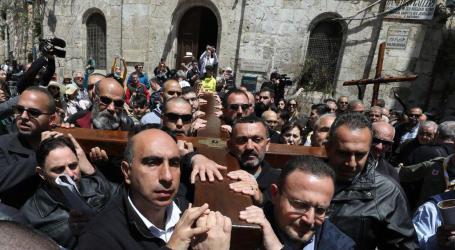 Israel Halangi Perayaan Jumat Agung di Yerusalem