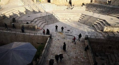 Israel Kembali Tutup Gerbang Al-Amud Masjid Al-Aqsa