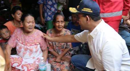 Anies Pastikan Kebutuhan Korban Kampung Bandan Terpenuhi