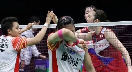 Piala Sudirman 2019: Indonesia Terhenti di Semifinal