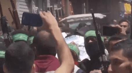 Pemakaman Warga Gaza Berlangsung di Tengah Serangan Israel