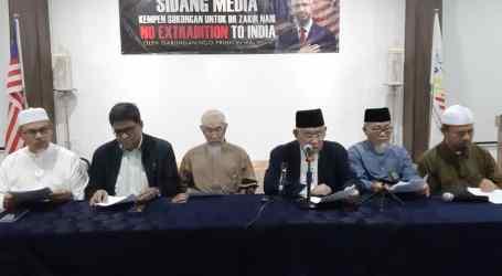 MAPIM Tolak Ekstradisi Dr. Zakir Naik