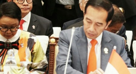 Presiden Jokowi Kemukakan Dampak Perang Dagang AS-RRT di KTT ASEAN