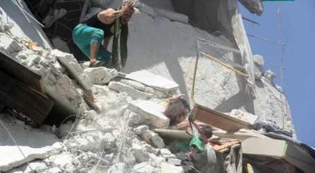 Serangan Udara Suriah Tewaskan Lebih 20 Orang, 10 Anak-Anak