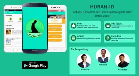 Mahasiswa IPB Buat Aplikasi Hijrah-ID untuk Bantu Mualaf Berhijrah