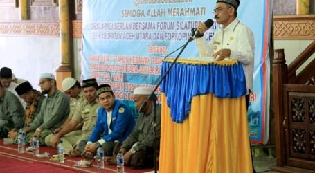 Ormas se-Aceh Utara Deklarasi Larang Anak dan Perempuan Berkeliaran Malam
