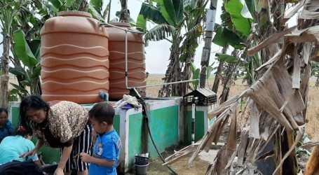 DD Bangun Sumur Air Bersih Untuk masyarakat Desa Pantai Harapan Jaya