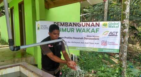 ACT Bangun Sumur Waqaf untuk Warga di Idi Rayeuk Aceh